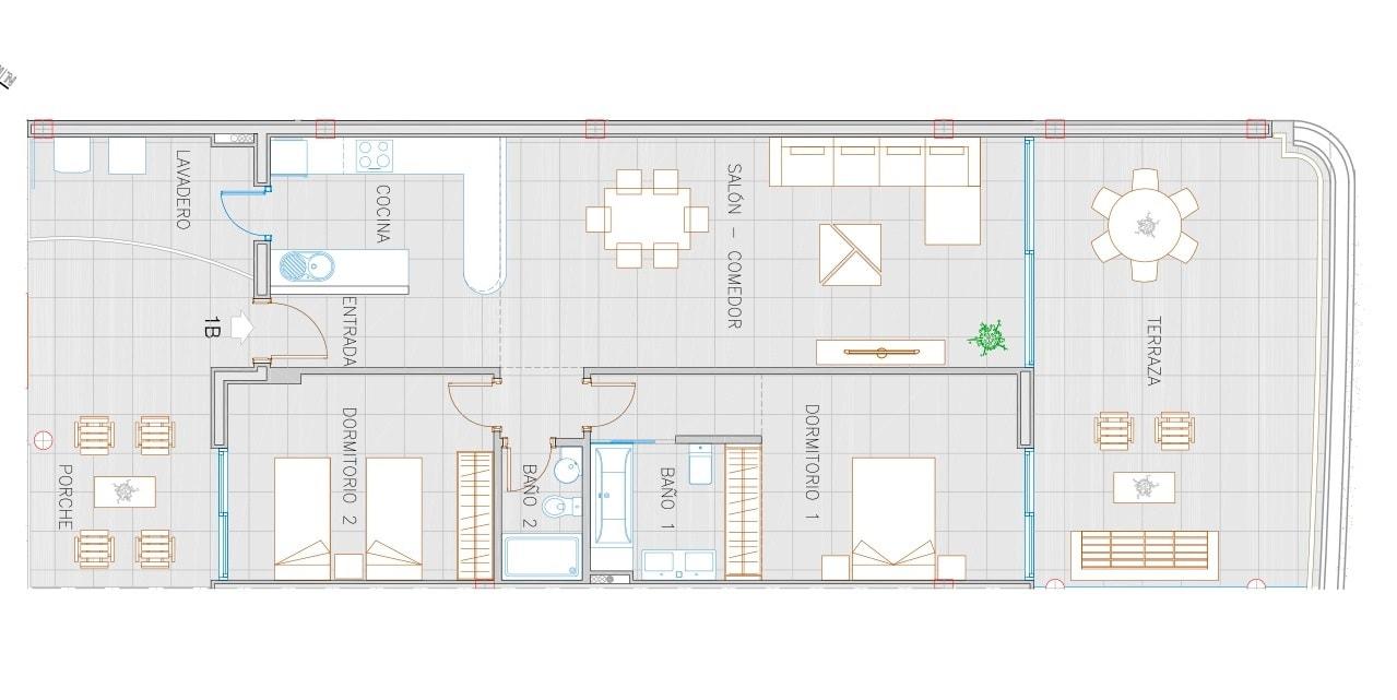 The Hill 3 Apartment 1B - Reserva del Higuerón