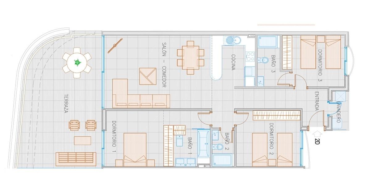 The Hill 5 Apartamento 2D - Reserva del Higuerón