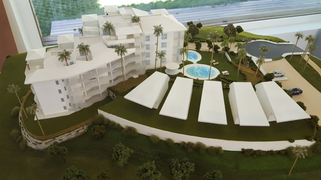 """We started with the implementation of """"Peninsula Residences"""" - Reserva del Higuerón"""